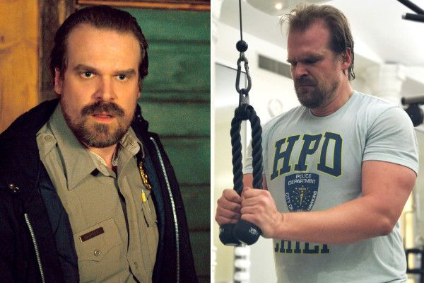 This workout got 'Stranger Things' star David Harbour totallyripped