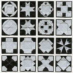 WonderFold Squares 18 (Origami Spirit) Tags: origami paperfolding papiroflexia frbel froebel