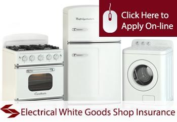 shop insurance for electrical white goods shops