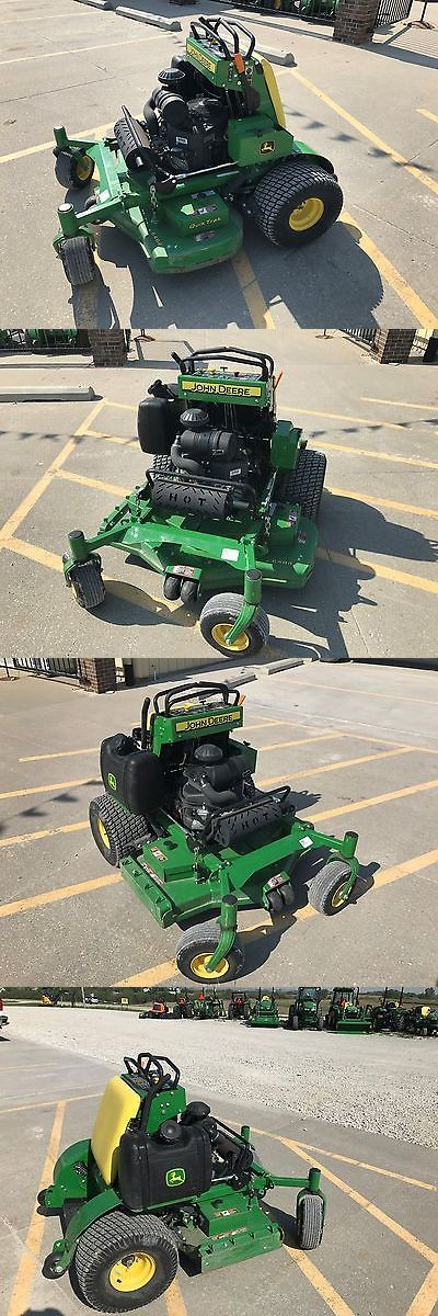 Riding Mowers 177021: New John Deere Quik Trak 648R Stand On Mower #145589--4275 -> BUY IT NOW ONLY: $5500 on eBay!