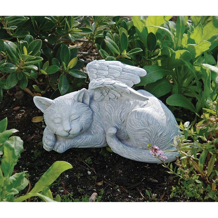 Design Toscano Cat Memorial Angel Pet Statue | from hayneedle.com