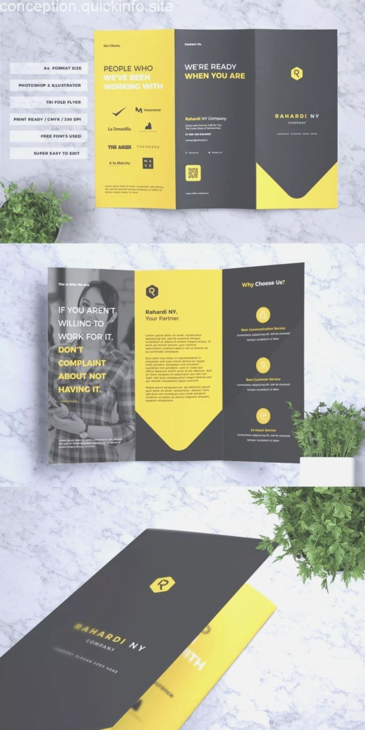 A4 Size Brochure Templates Psd Free Download