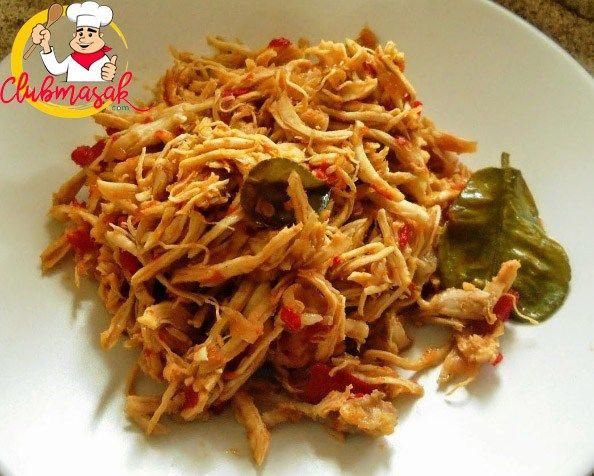 Ayam Suwir Club Masak Resep Ayam Masakan Indonesia Resep