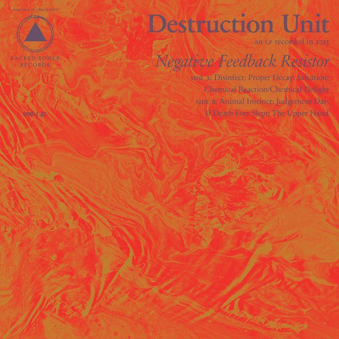Arizonan Psych-Punk marching band Destruction Unit is about to drop a new album called 'Negative Feedback Resistor'. Stream the noisy thing inside.