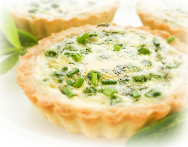 Hot Cheese & Onion Tartlets