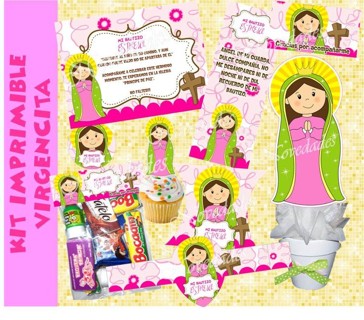 virgen guadalupe imprimibles topper cupcake - Buscar con Google