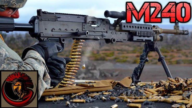 The M240 Machine Gun   Americas Medium Machine Gun