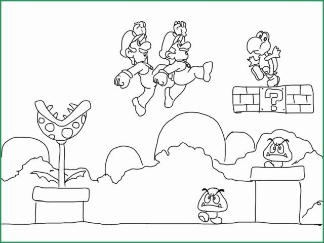 27 Elegant Photo Of Super Mario Bros Coloring Pages Super Mario