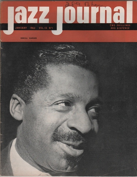 Jazz Journal, January 1962, Erroll Garner.