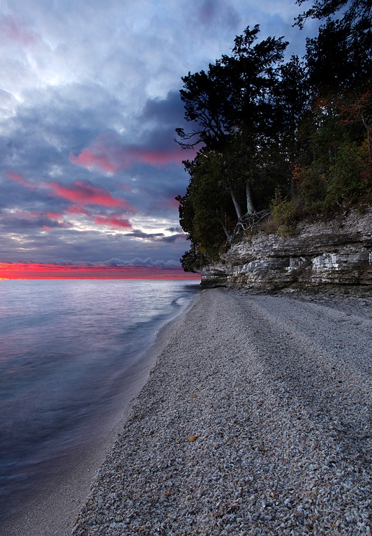 Porcupine Point Door County by Aaron C. & 15 best Door County Beaches images on Pinterest | Door county ... pezcame.com