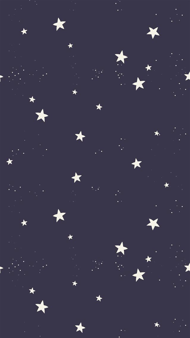 Simple Stars Pattern Iphone 8 Wallpapers Wallpaper Achtergronden