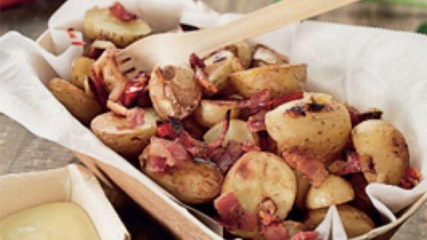 Chilikartofler med Aioli | Ude og Hjemme