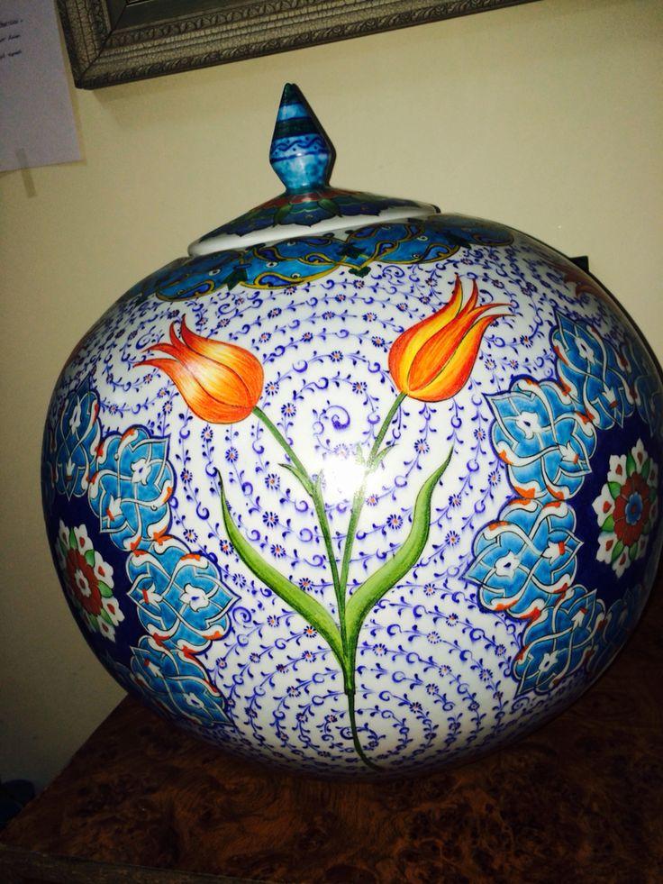 By İsmail yiğit 40 cm küre mat sır