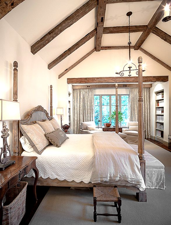 beams in the bedroom