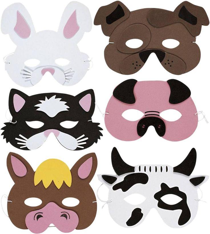 Farm Animals Mask   The Childminding Shop