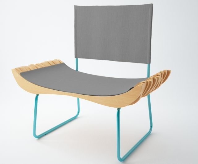 Carpentry prêt-à-porter – everyone want to have it in the living room. Not so easy to get? Until now! Our designers took care of classy furnitures, formidable by their form.  The armchair is characterized by unconventional, sculpted silhouette. Beech wood. Upholstery fabric.