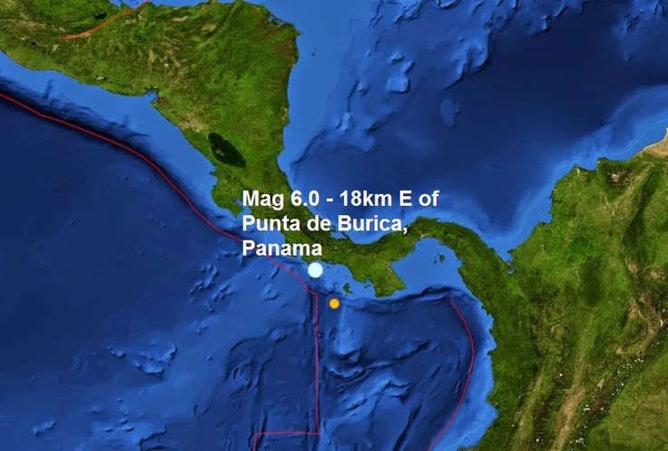 The Big Wobble Almanac : Magnitude 6.0 - 18km E of Punta de Burica, Panama:...  Today's earthquake is this years 147th quake measuring magnitude 6 or more and the 2nd of December. Last month a total of 11 Magnitude 6 or larger earthquakes were registered. The biggest quake this year was a magnitude 8.2- 94km NW of Iquique, Chile on the second of April earlier in the year.