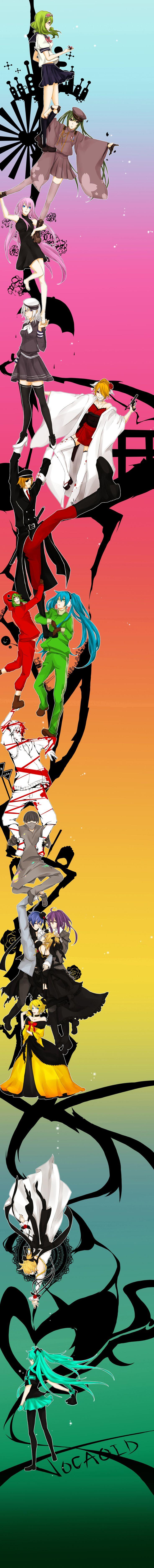 Tags: Hatsune Miku, Kagamine Rin, Kagamine Len, KAITO, Megurine Luka, Kamui Gakupo, Love is War, Story of Evil, GUMI, Pixiv, Imitation Black, Trust Me, Matryoshka, Song-Over, Karakuri 卍 Burst, Leia, Fan Character, Ama no Jaku, VanaN'Ice, Hachi-p, Time-warped After Chopping My Stag Beetle, Senbon Sakura, Akuno-p, The Lost Memory, Scl Project, Natsu-p, akinashi., Kagerou Project