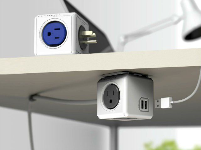 PowerCube Extended USB. This power strip looks so cool and stylish, you will want to have it sitting on your desk in plain sight. getdatgadget.com/getdatgadget-top-10-gadgets-july-2014/