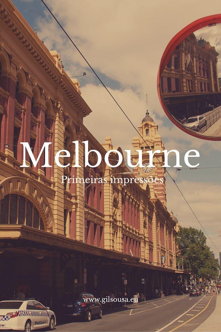 Uma primeira vista sobre #Melbourne #Austrália