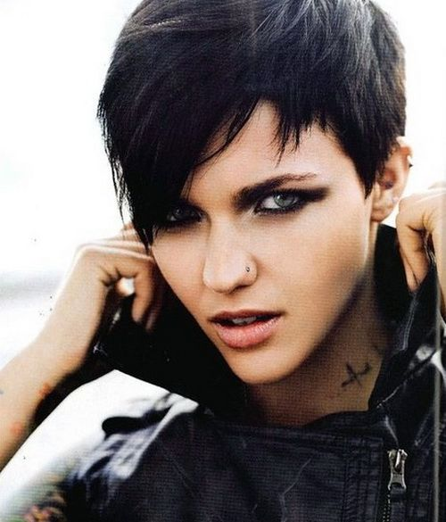 Edgy Punk Haircuts: 58 Best Images About Daring Short Haircuts On Pinterest