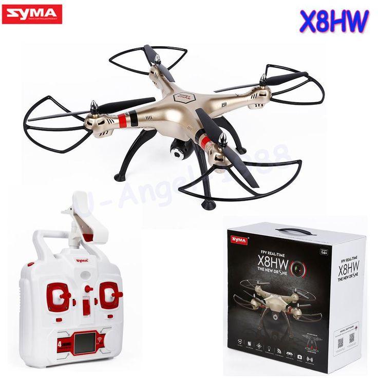 Syma X8HW WIFI FPV Quadcopter (2.4Ghz 6 Axis Gyro, 1 mp HD camera)