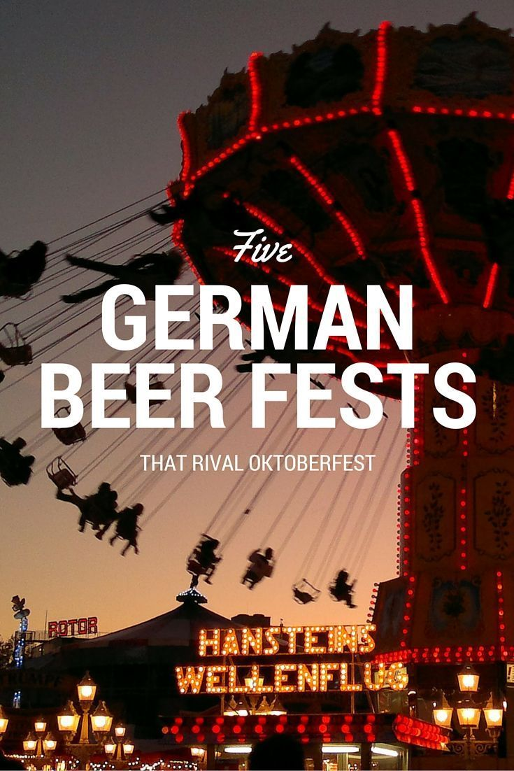 Move over Oktoberfest! There are beer festivals throughout Germany that are worth visiting other than Munich's Oktoberfest. Click through to read about the five German beer festivals that we think rival Oktonbefest
