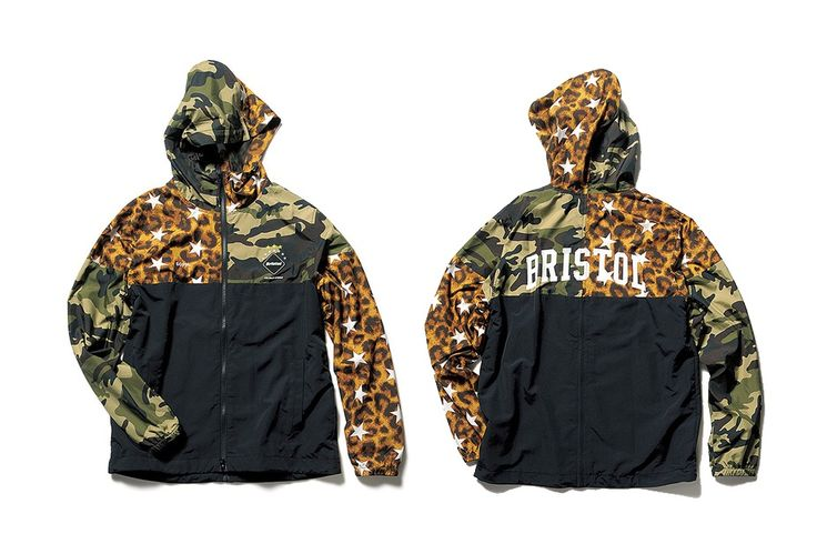 As part of its ever growing 2017 spring/summer collection, the latest F.C.R.B. drop includes some heavy camo-inspired pieces. The brand is no stranger to camo designs, as it has been a staple in F.C.R.B's past collections. This time, however, they mix it up with a camo/star patterned separable windbreakers and a two-piece training shirt and shorts bundle that comes with a draw string bag.
