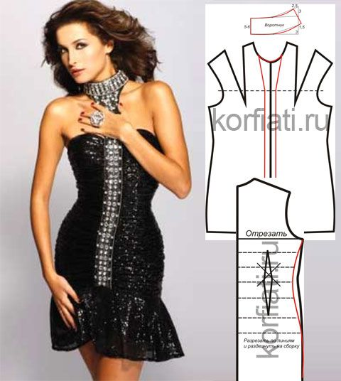 Платье для вечеринки от Анастасии Корфиати