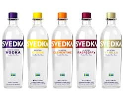 svedka vodka - Copy cat of Absolut at a lower price point. Fastest growing brand in vodka. - Fem bot print and tv ads - Number one vodka in 2033 - future vision