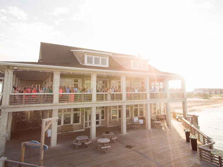 matt lusk photography wedding photographer outer banks weddings outer banks association jennettes pier nags head obx