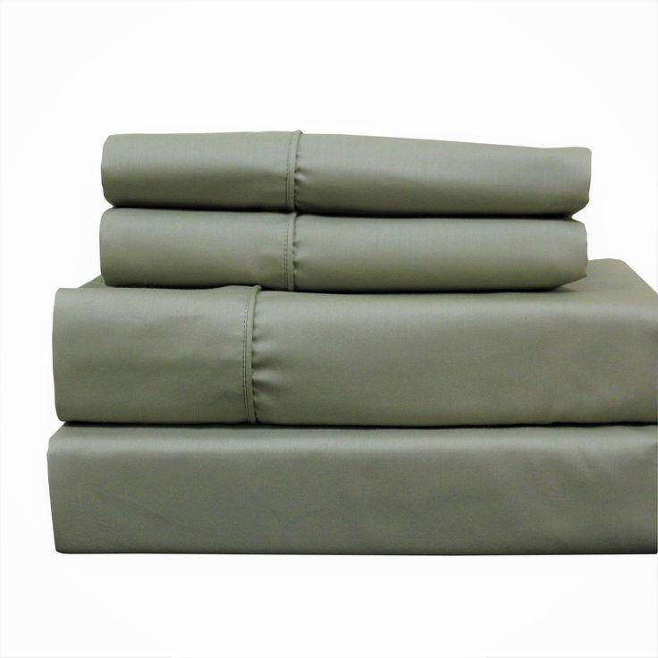 sage deep pocket top split king sheets half split fitted adjustable king sheet