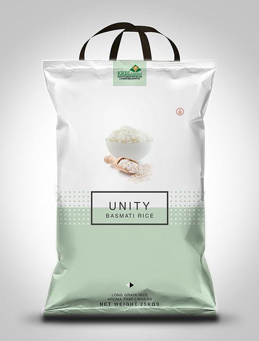 Unity Basmati Rice Packaging Design on Behance