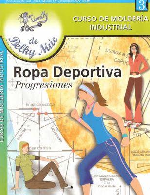 Mujeres y alfileres: Molderia industrial - Ropa deportiva. Progresiones