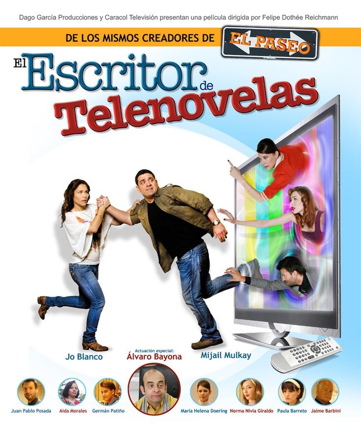 El escritor de telenovelas, una película que hace parte de la Semana del Cine Colombiano: http://www.mincultura.gov.co/semanadelcine/