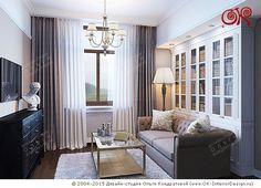 Дизайн домашнего кабинета с библиотекой - http://www.ok-interiordesign.ru/ph24_private-office_interior_design.php