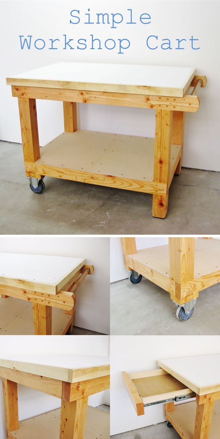 Awesome tutorial! Build a simple cart for your workshop.