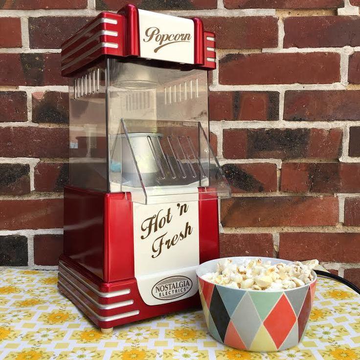 Orangevertevintage — Machine A Pop Corn Retro