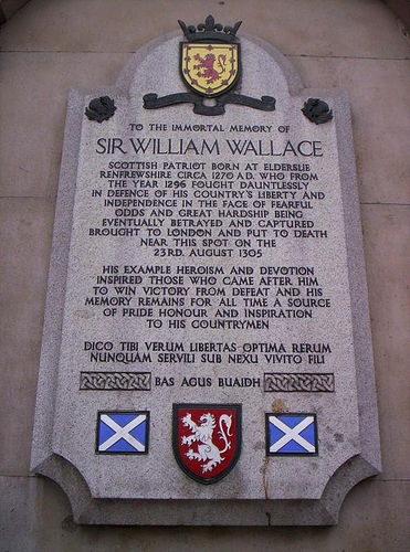 William Wallace is my ancestor. My great grandfathers name was William Wallace Wooldridge. Family name.
