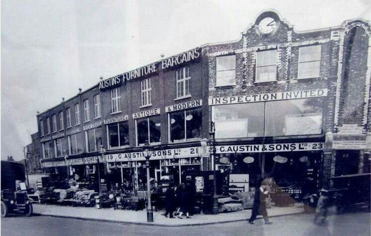 An Old Photo of Austin and Sons Ltd Peckham South East London England