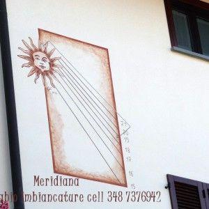 Meridiane murali - Canziani Fabio cell 348 7376942