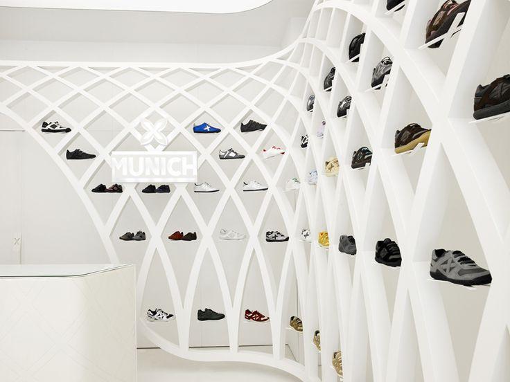 Store Shelves Become a Shrine to Sneakers   Co.Design   business + design