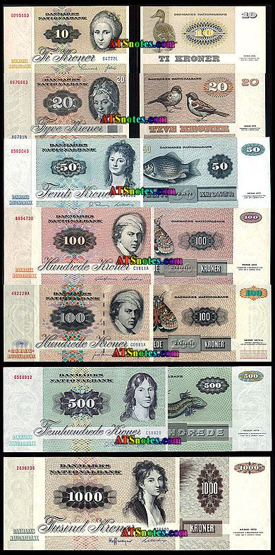 denmark currency | Denmark banknotes - Denmark paper money catalog and Danish currency ...