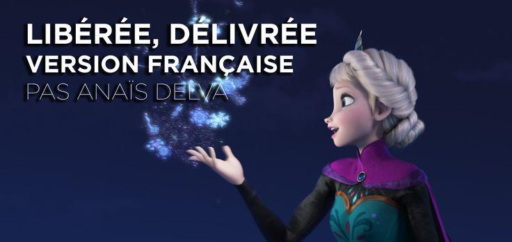 """Découvrez la chanson d'Elsa du film Disney 'La Reine des Neiges': """"Libérée, délivrée"""", chanté par Anaïs Delva. Retrouvez La Reine des Neiges : - sur Facebook..."""