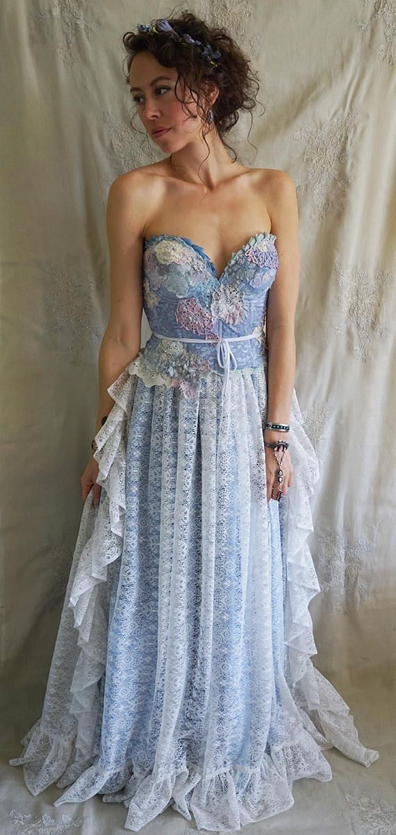 Bluebird Gown by Fable Dresses on Etsy