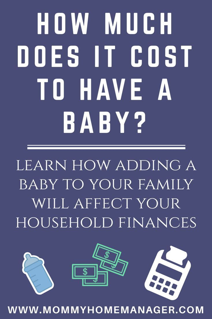 Adding a little one to your home will have a huge impact on your family's finances. Check out this post to help answer the question - how much does it cost to have a baby? #newmom #newbaby #budget #expecting