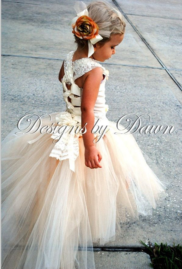 Adorable Flower Girl Dress Beach Wedding Pinterest