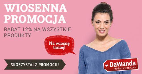 Od piątku 11.03 Wielka Wiosenna Promocja. Wszystkie nasze produkty -12% !!! Zapraszamy na ---> http://pl.dawanda.com/shop/REDMASTER