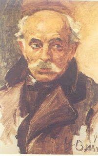 Portrait of Vasileios Hatzis, 1913  George Bouzianis