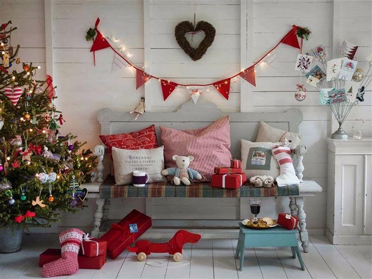 Pembe Yastık: Country Living Christmas Fair